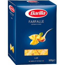 Макар.изд-я Barilla Фарфалле 500г/уп