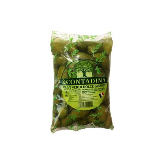 Оливки супер гигант 850/500 г