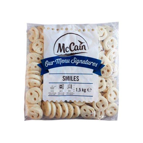 Картофель McCain улыбка