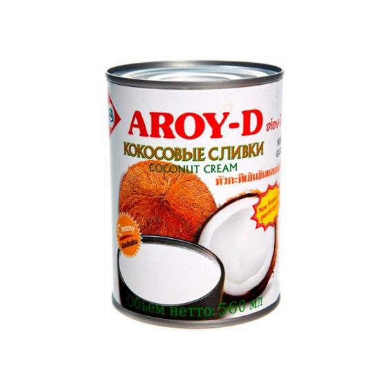 Кокосовые сливки AROY-D ж/б 560мл.
