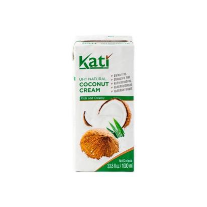 Кокосовые сливки тетрапак Kati 1л.