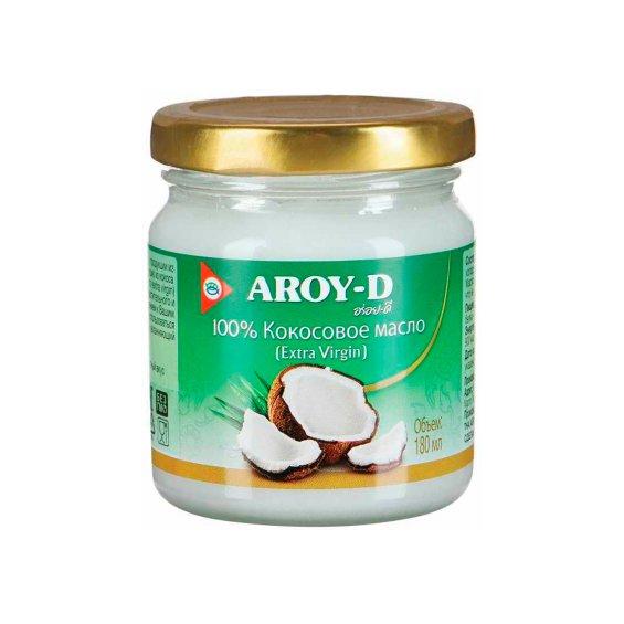 Масло кокосовое ст./б AROY-D