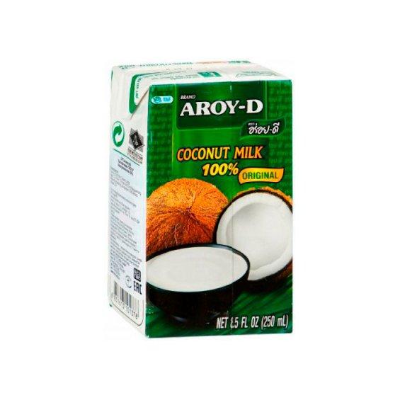 Молоко кокосовое тетрапак AROY-D 250мл.