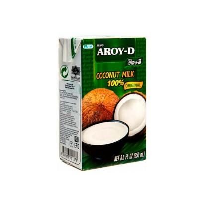 Молоко кокосовое тетрапак AROY-D 500мл.