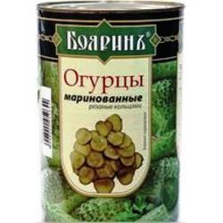 Огурцы слайсы БОЯРИНЪ