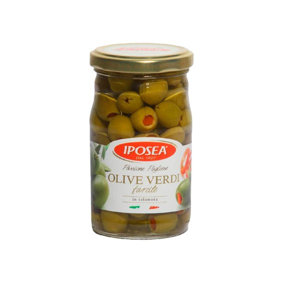 Оливки с перцем Iposea