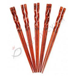 Палочки фигурные коричневые (пара)