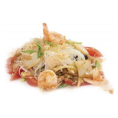 Лапша рисовая c морепродуктами