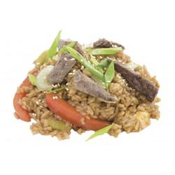 Рис с телятиной