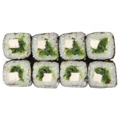 Ролл с Тофу и салатом Хияши